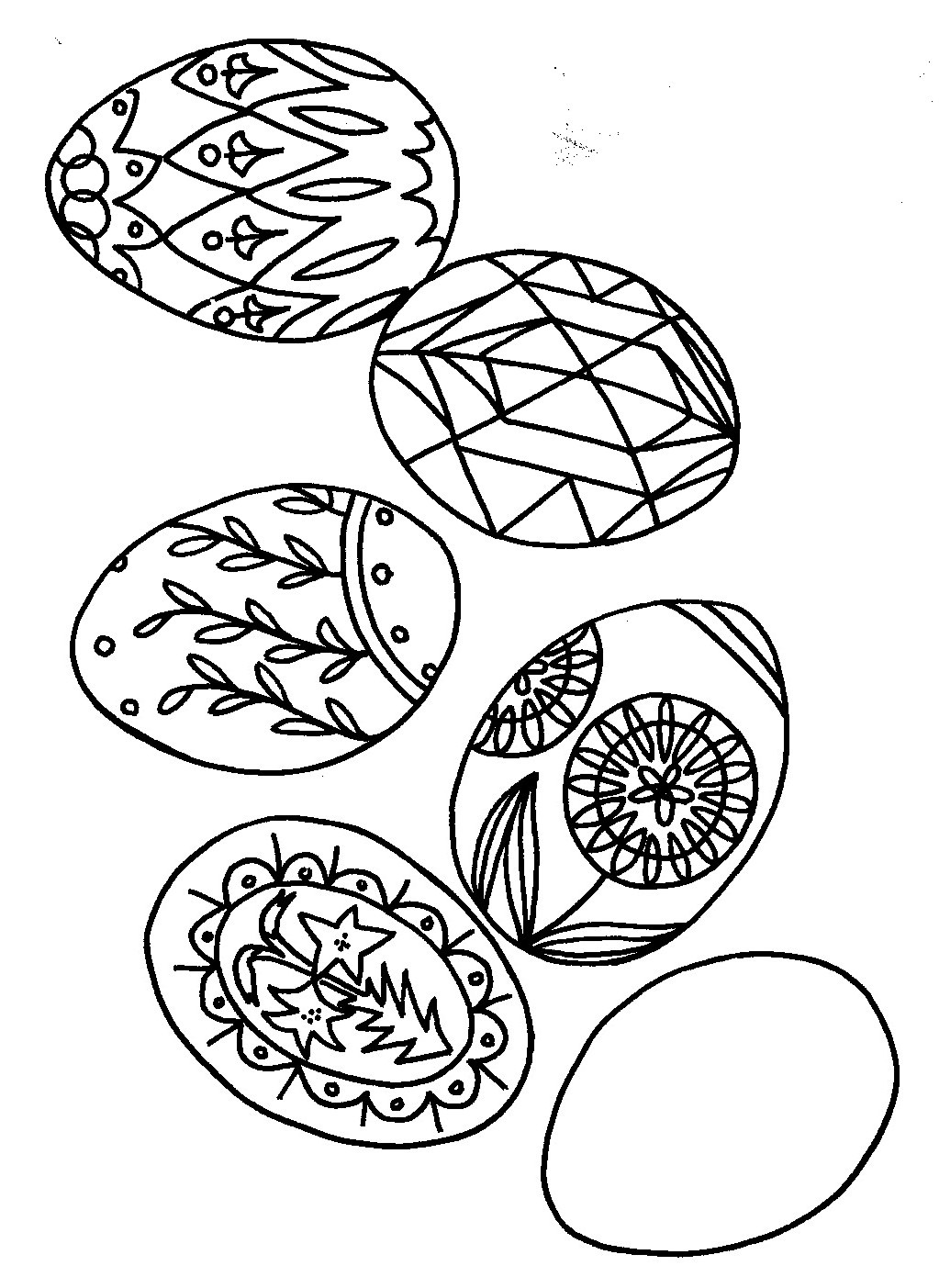 polish easter traditions pisanki easter eggs to color